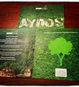 Sinpaş Country Tohum Kart doğa Kağıt ağaç figürü