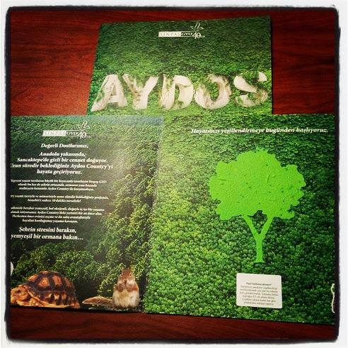 Sinpaş GYO Yeni Projesi Aydos Country'i Doğa Kağıt İle Tanıtıyor!